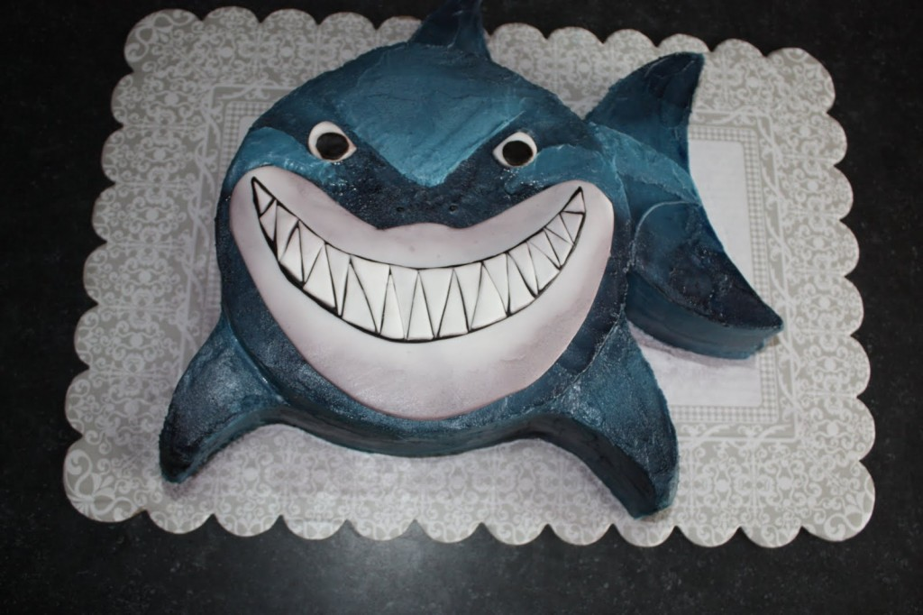nemo cake template - happy birthday kelly paranormal investigations of
